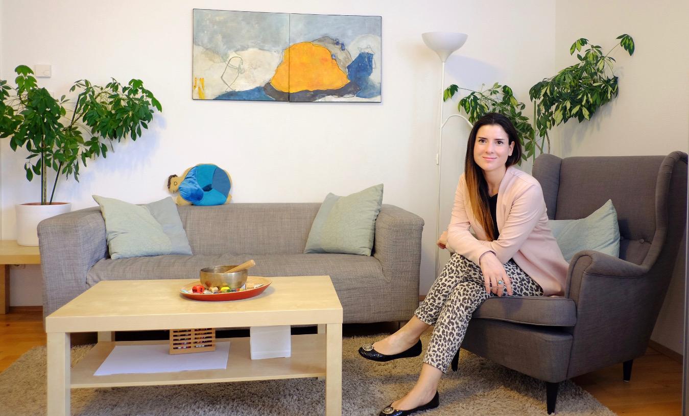 Psychologin Hypnosepsychotherapeutin Familienberaterin Praxis Halasz in Wien